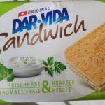 Dar Vida Sandwich Frischkäse & Kräuter