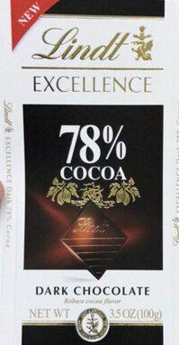 Dark Chocolate 78% cocoa