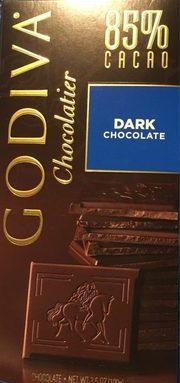 Dark chocolate 85 %