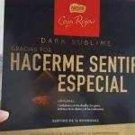 Dark sublime bombones surtidos de chocolate negro al de cacao