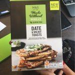 Date & walnut toasts