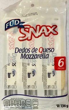 Dedos de queso mozzarella Snax