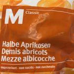 Demis abricots non sucrés