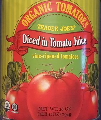 Diced In Tomato Juice