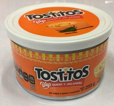 Dip Tostitos sabor queso y jalapeño