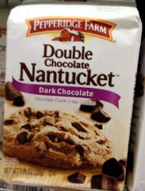 Double chocolate Nantuket Dark Chocolate