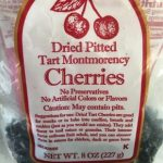 Dried pitted Tart Montmorency Cherries