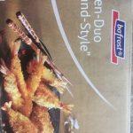 """Duo de crevettes panées """"Thailand Style"""""""