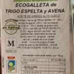Ecogalleta de Espelta y Avena
