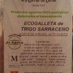 Ecogalleta de trigo sarraceno