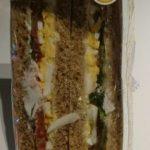 Egg & Spinach Sandwich