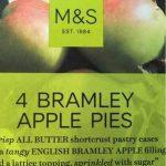 English Bramley Apple Pies