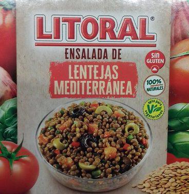 Ensalada de Lentejas Mediterránea