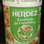 Ensalada de legumbres Herdez