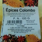 Epices colombo