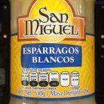 Espárragos blancos San Miguel
