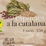 Espinacs a la catalana