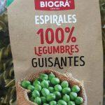 Espirales 100% legumbres guisantes