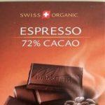 Espresso 72% Dark chocolate with coffee