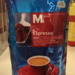 Espresso moulu