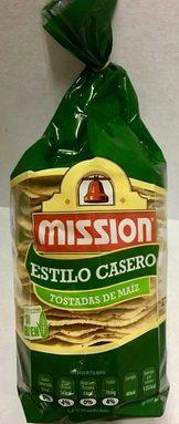 Estilo Casero Tostadas de maíz