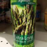 Extra Long Asparagus Spears