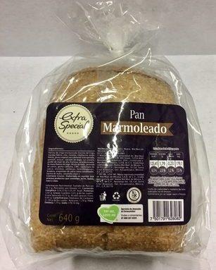 Extra Special Pan marmoleado