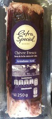 Extra special Chevré fresco arandano azul