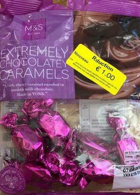 Extremely Chocolatey Caramels