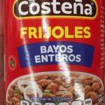 FRIJOLES BAYOS ENTEROS