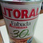 Fabada asturiana -sal y grasa