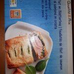 Feuilletés de filet de saumon