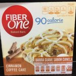 Fiber One Cinnamon coffe Cake