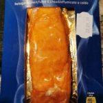 Filet de saumon fumé à chaud