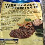Filettone quinoa y verduras