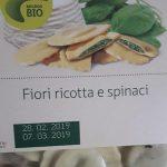 Fiori ricotta e spinaci