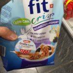 Fit Crisp : Mûres&Yogurt et huile de palme
