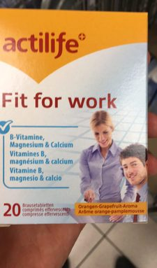 Fit for work Arôme orange-pamplemousse