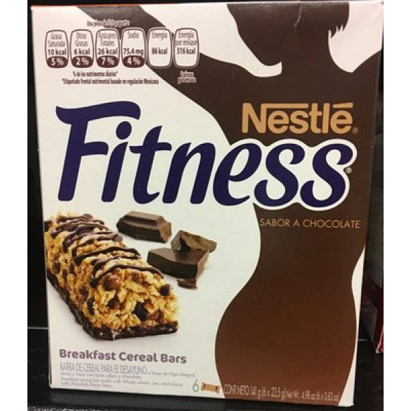 Fitness breakfast cereal bars