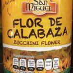 Flor de calabaza San Miguel