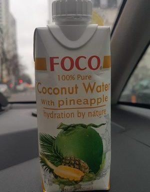 Foco Coconut Water Pineapple