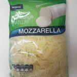 Formatge ratllat mozzarella