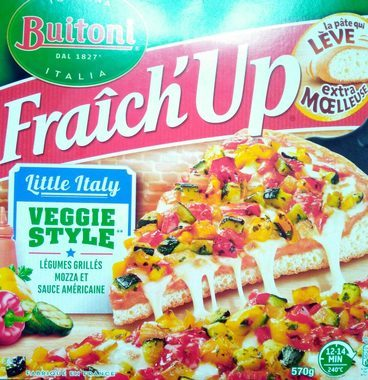 Fraich'Up Little Italy Veggie Style