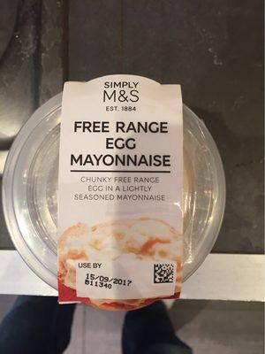 Free range egg mayonnaise