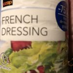 French Dressing -75% de mg