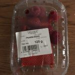Fresh Raspberries 125G 1 / 8 1KG / Box