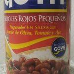 Frijoles Rojos Pequeños en salsa