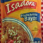 Frijoles refritos Bayos Isadora