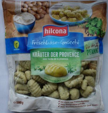Frischkäse-Gnocchi Kräuter der Provence