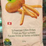 Frites au four suisses
